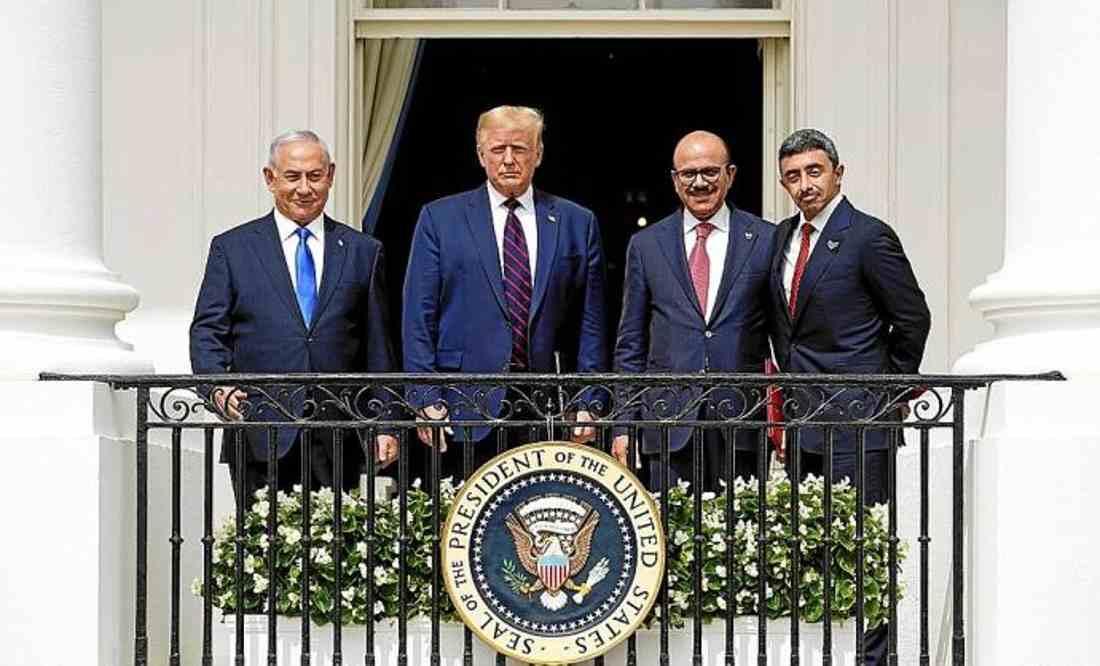 Acuerdos de Abraham no se habrían firmado sin Trump