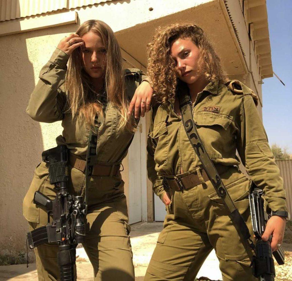 Mujeres soldado de Israel en primera línea para combatir a Hezbollah