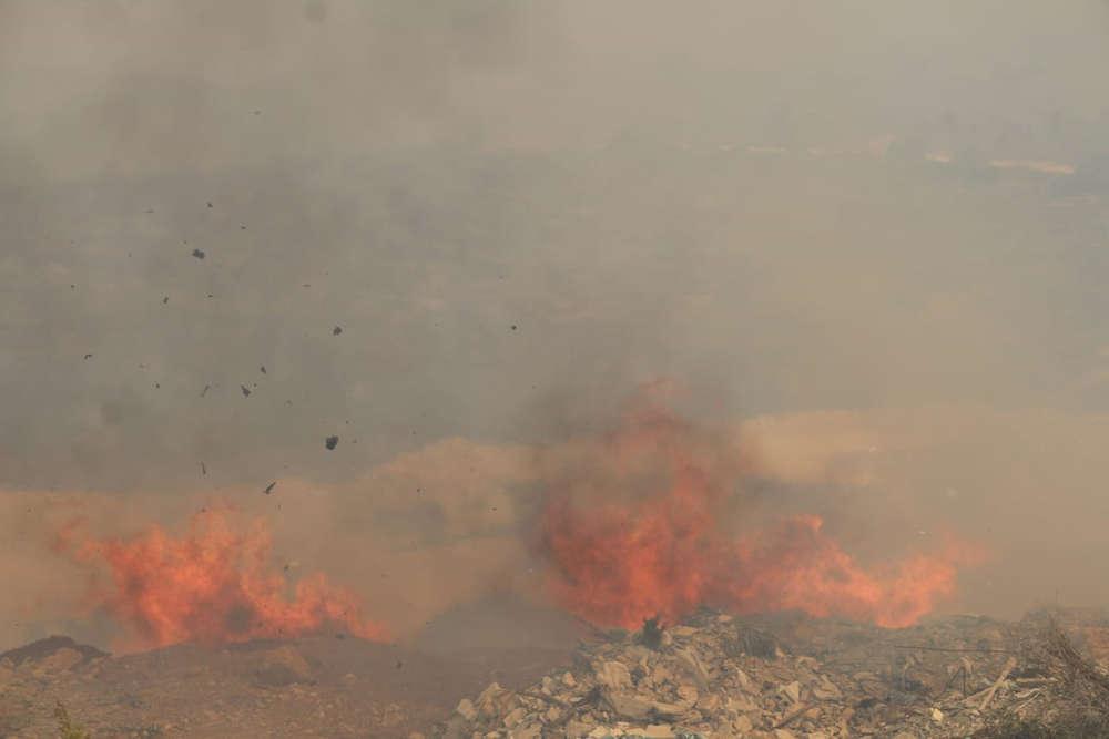 Ola de incendios en Israel: cientos evacuados de sus hogares
