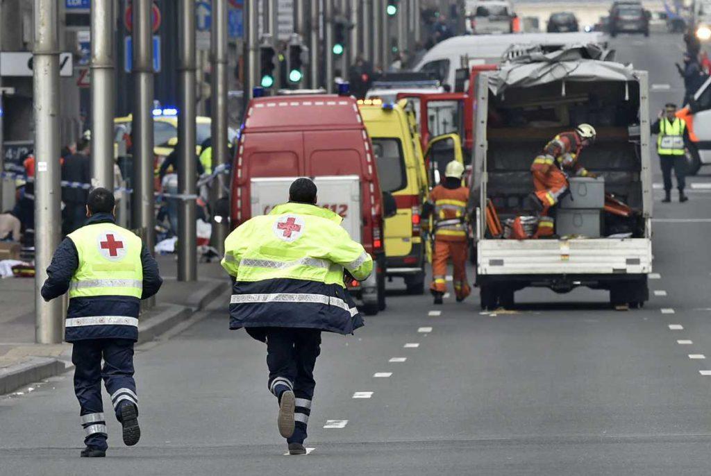 Bomberos en bruselas