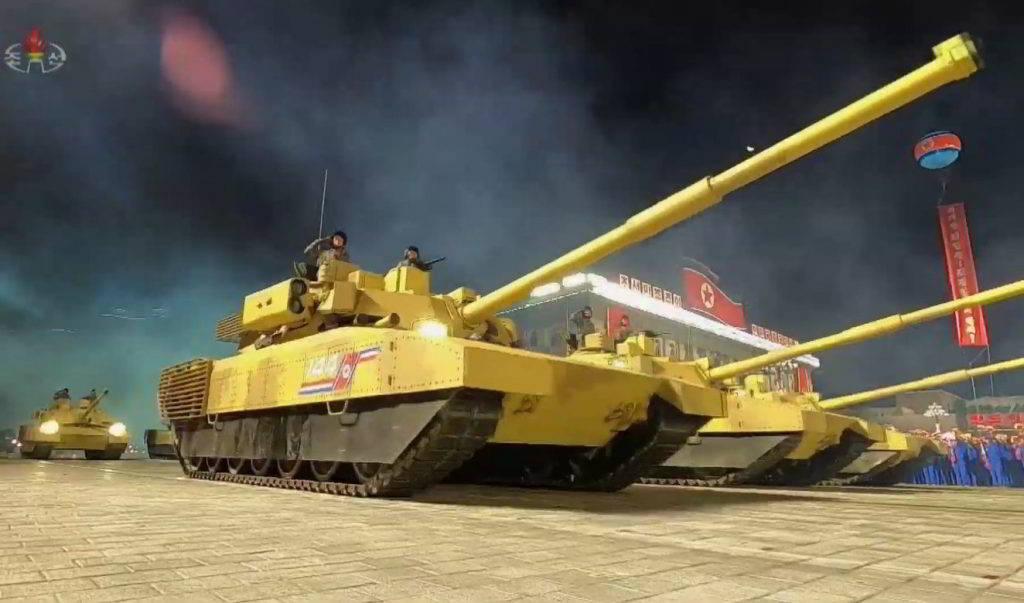 Corea del Norte crea su propia versión del tanque ruso Armata