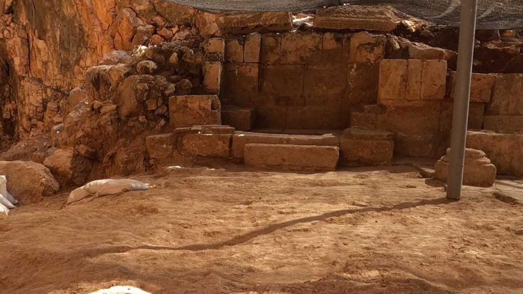 Iglesia bizantina descubierta en la reserva natural de Banyas