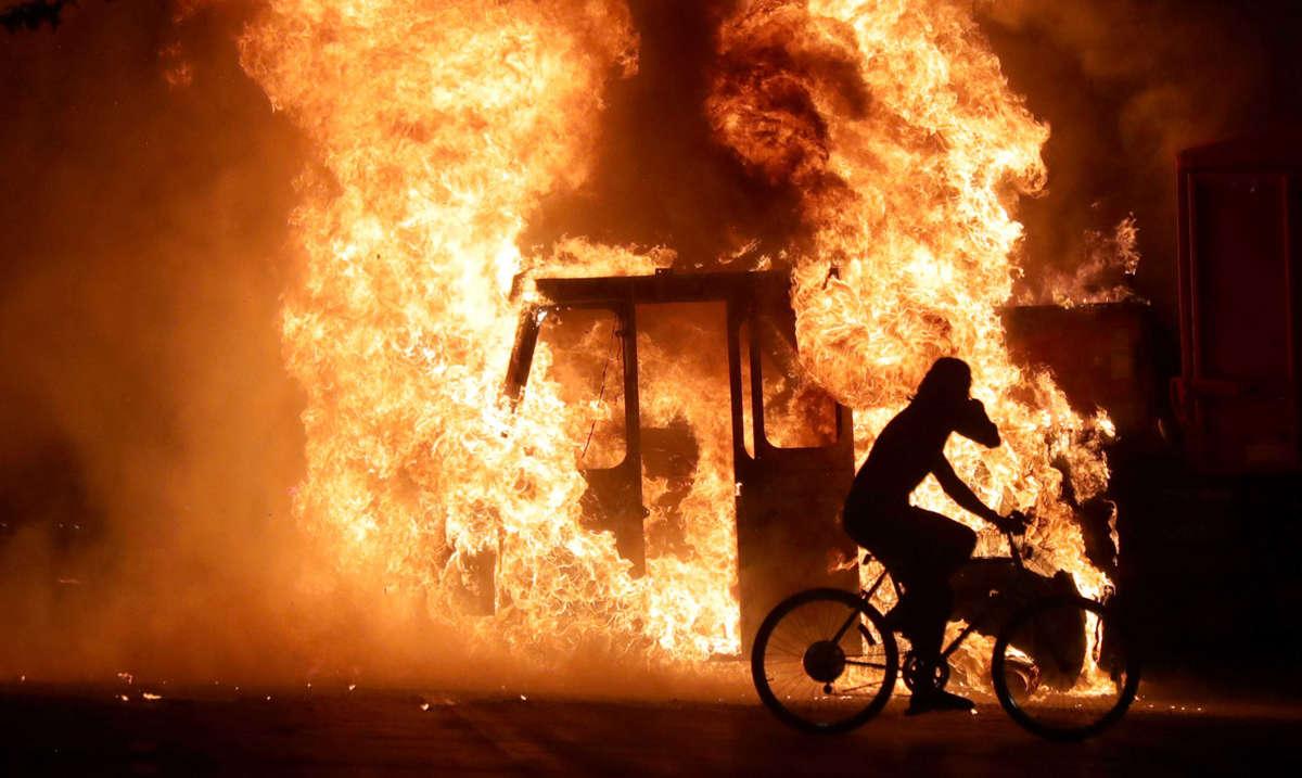 Los vínculos de China con los disturbios en Estados Unidos