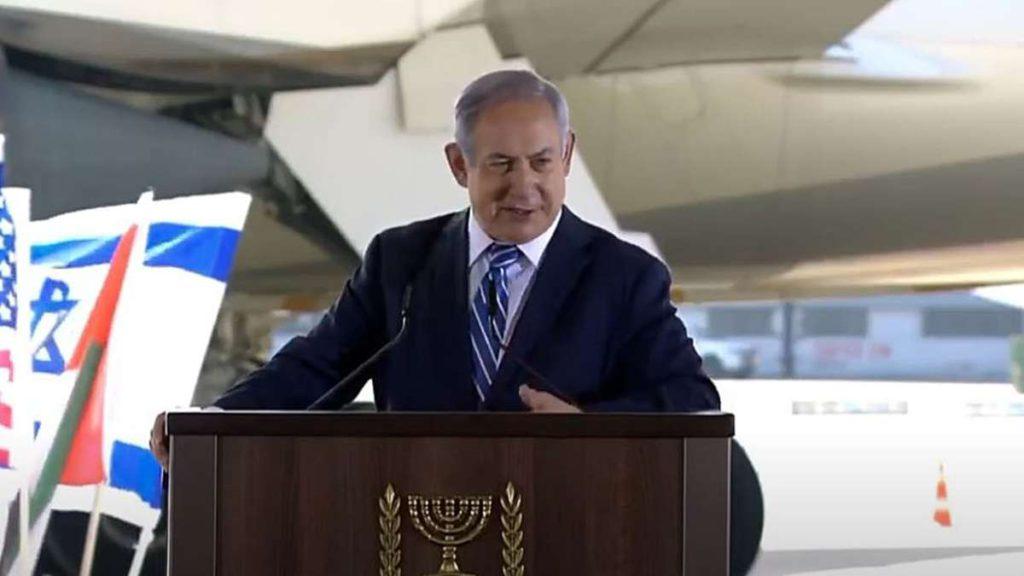 Netanyahu bienbvenida