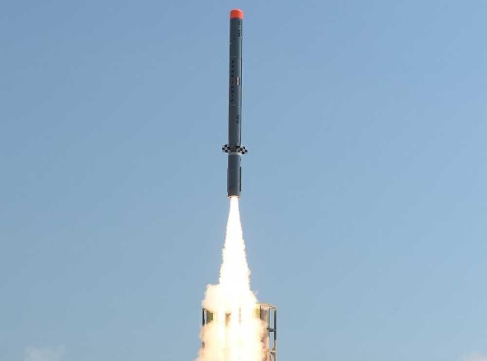Falla la prueba de misil de crucero Nirbhay de India