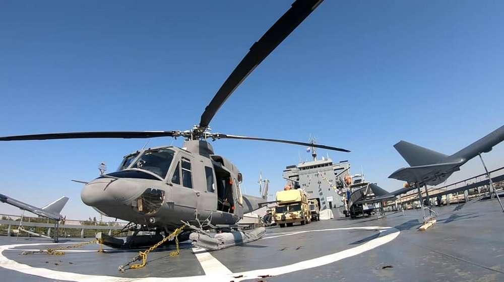 Guardia Revolucionaria de Irán lanza un buque portaaviones