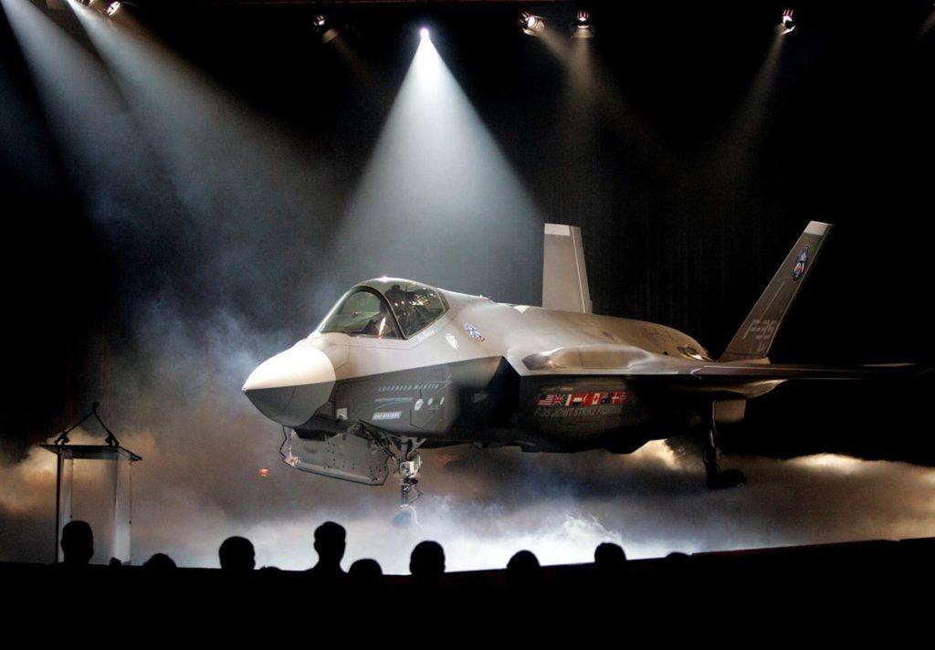 F 35 presentacion