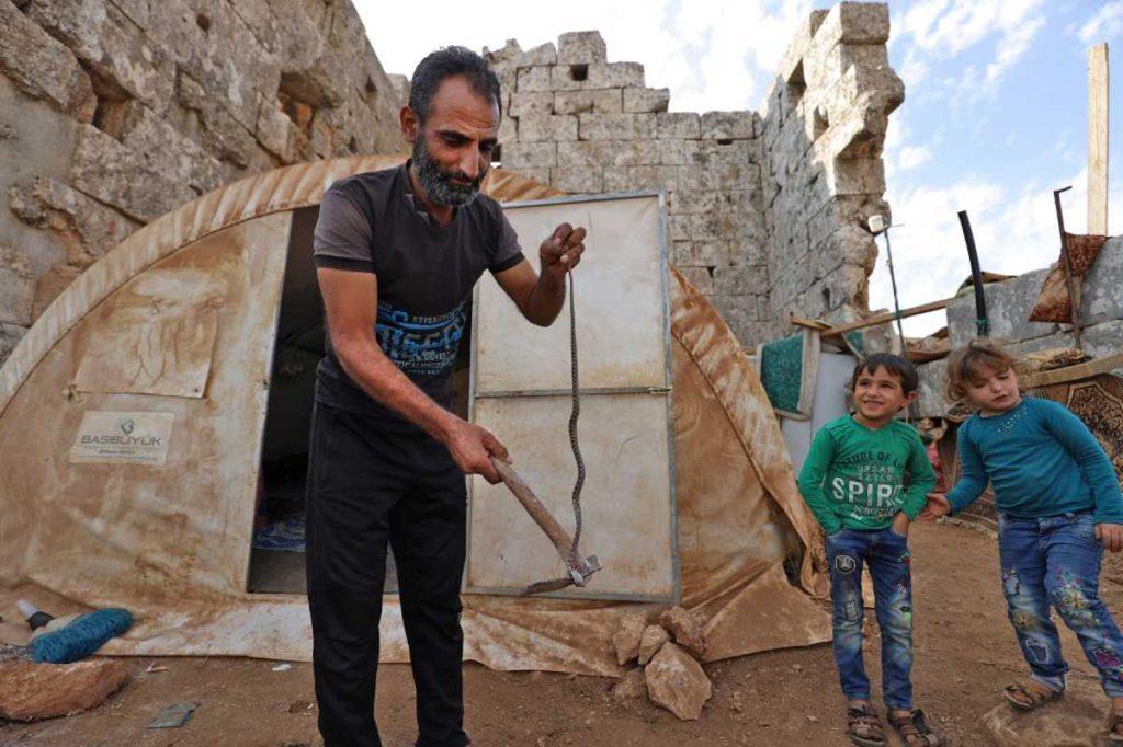 Sirios desplazados