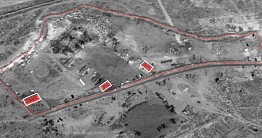 cuarteles de Iran en siria