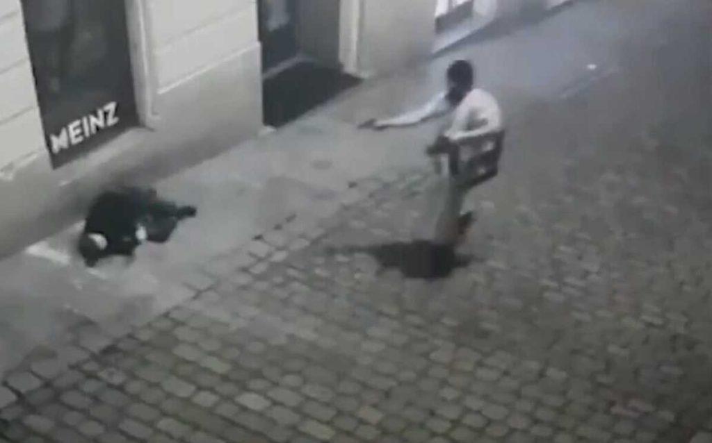 tiroteo en Viena disparo
