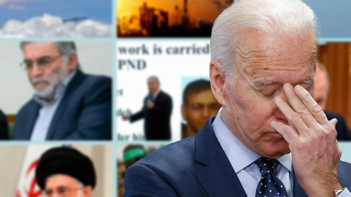 Los acontecimientos en Oriente Medio envían un mensaje a Biden