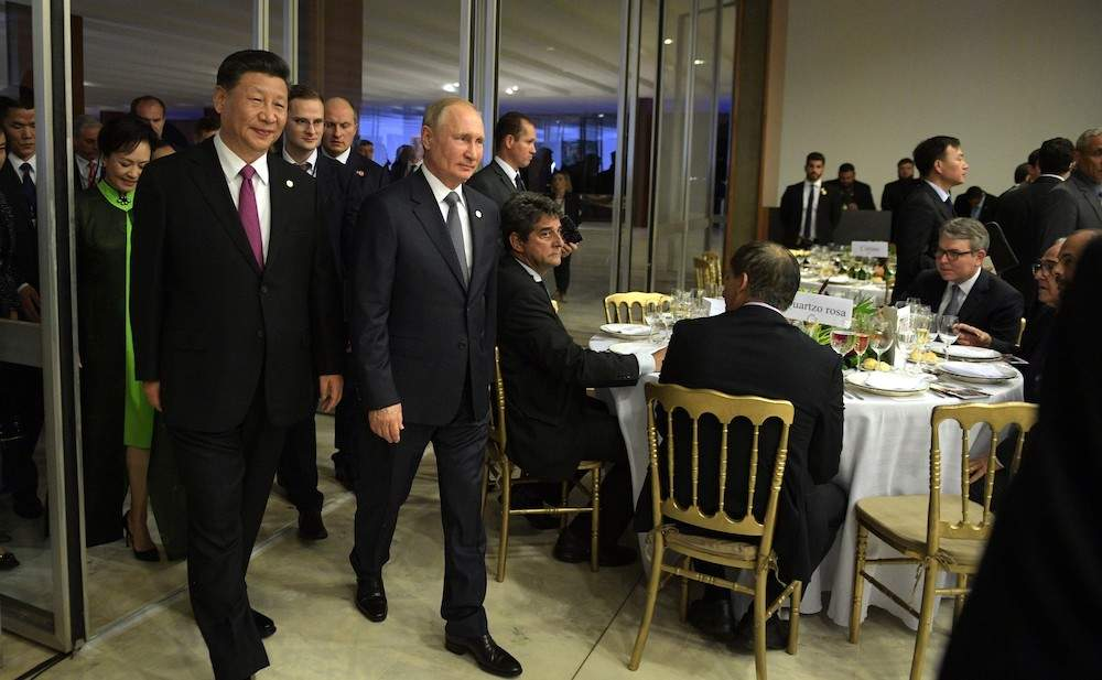 Putin y Xi