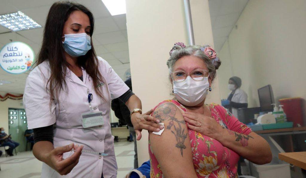 israelies se vacunan