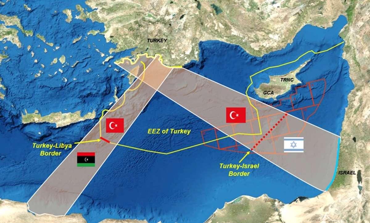 Turquía propone acuerdo marítimo a Israel que excluye a Chipre