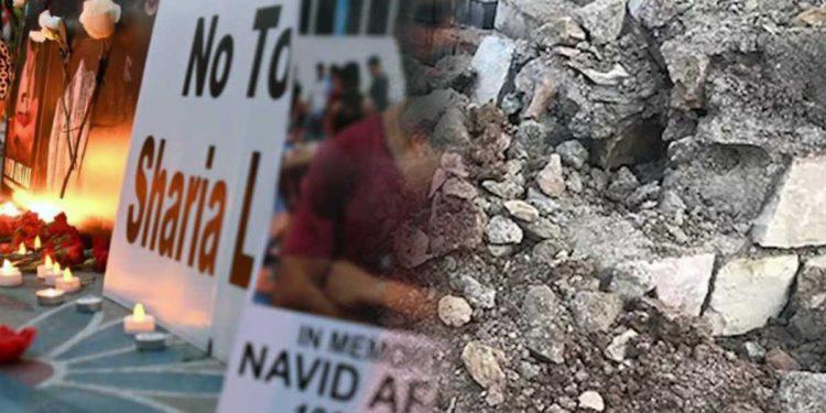 Régimen iraní destruyó la tumba del campeón de lucha ejecutado