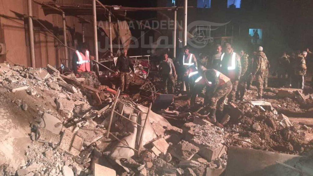 EE.EE proporcionó información a Israel para ataques en Siria