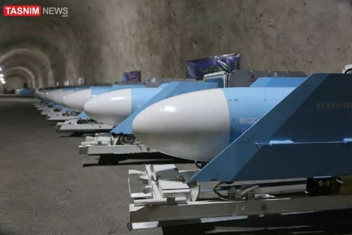 """Irán publica imágenes de su """"ciudad subterránea de los misiles"""""""
