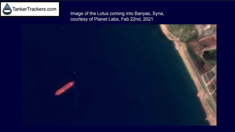 Barco que vertió petróleo en Israel aparece anclado en la costa de Irán