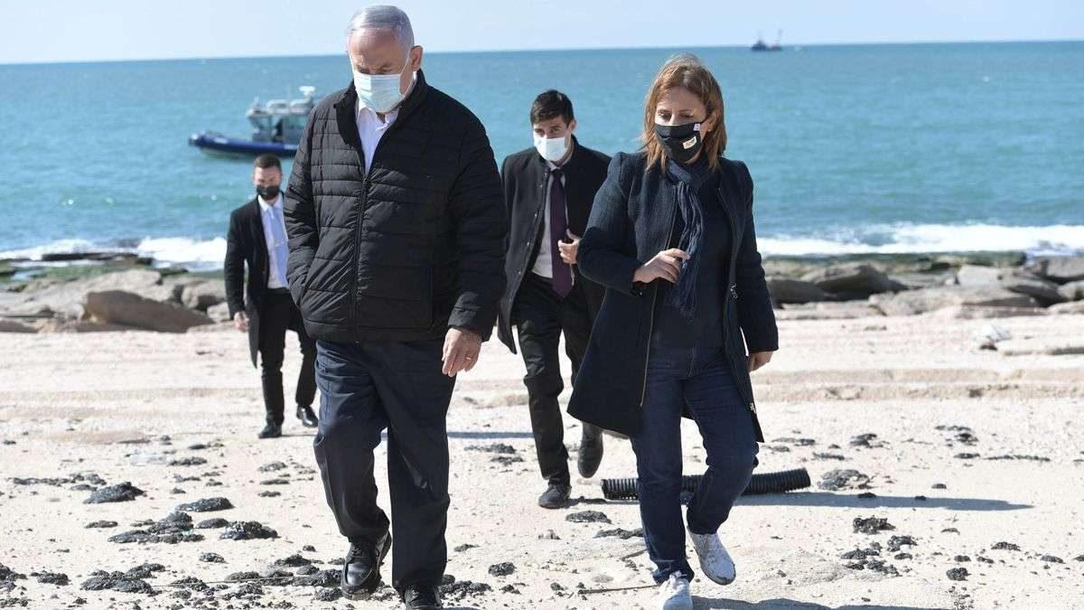 Derrame de petróleo frente a la costa de Israel fue 'terrorismo ambiental'