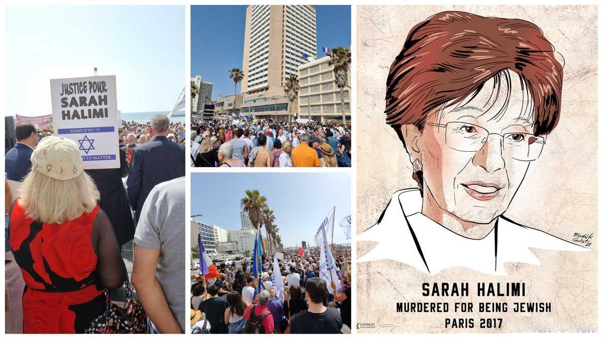 Manifestaciones en el mundo piden justicia por asesinato de Sarah Halimi