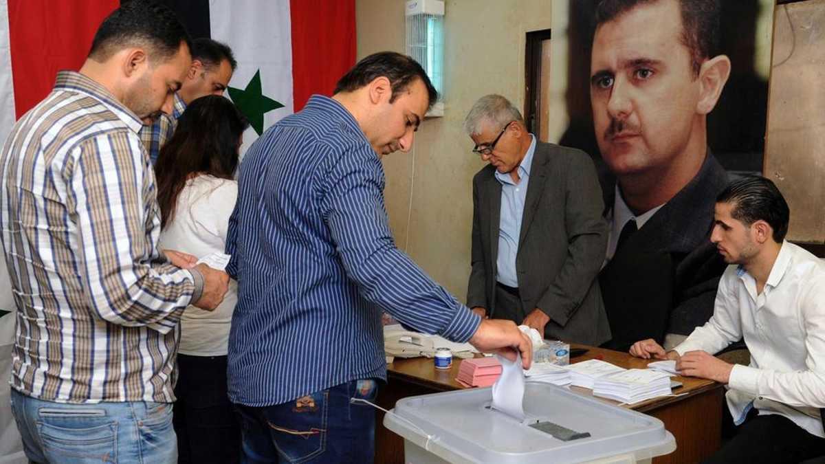 Siria celebrará el próximo mes elecciones presidenciales