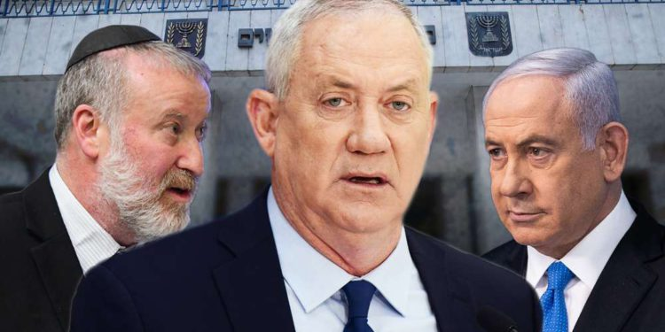 Netanyahu cede y acepta nombrar a Gantz ministro de Justicia