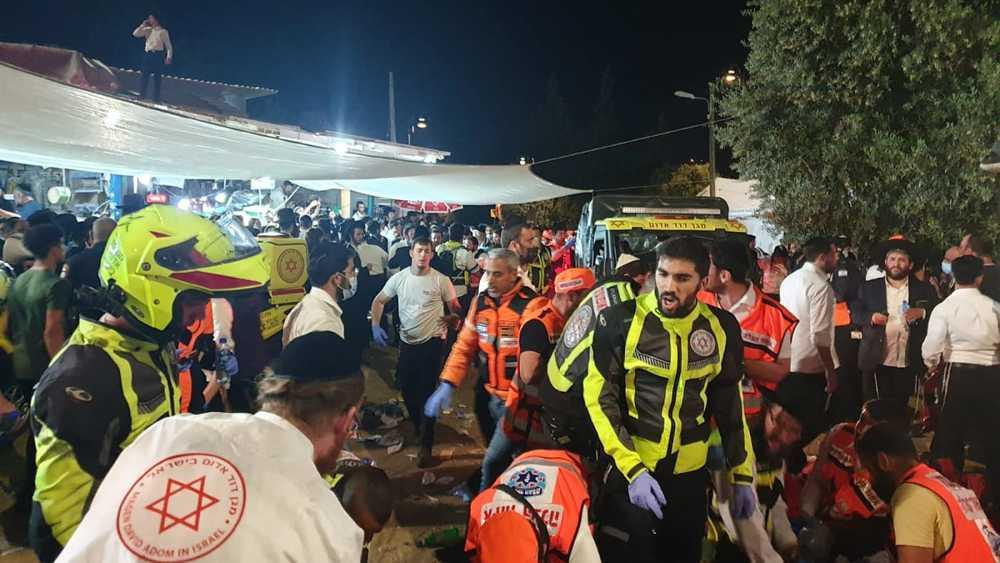 28 personas murieron y decenas heridas en festival de Lag B'Omer