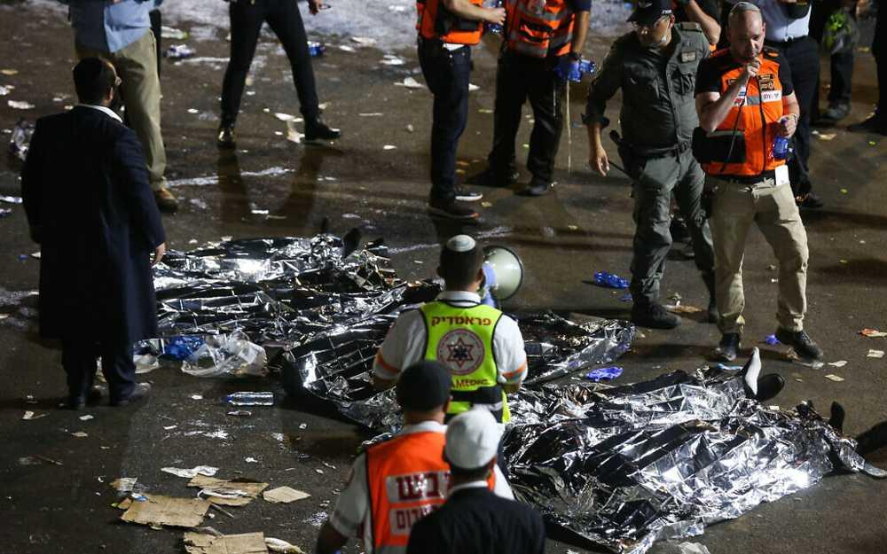 Tragedia en Israel: 44 muertos y decenas de heridos g raves