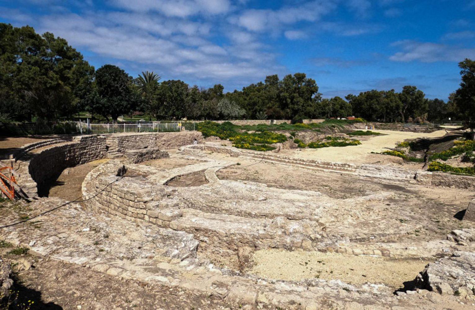 Impresionante basílica de 2.000 años de antigüedad descubierta en Ashkelon
