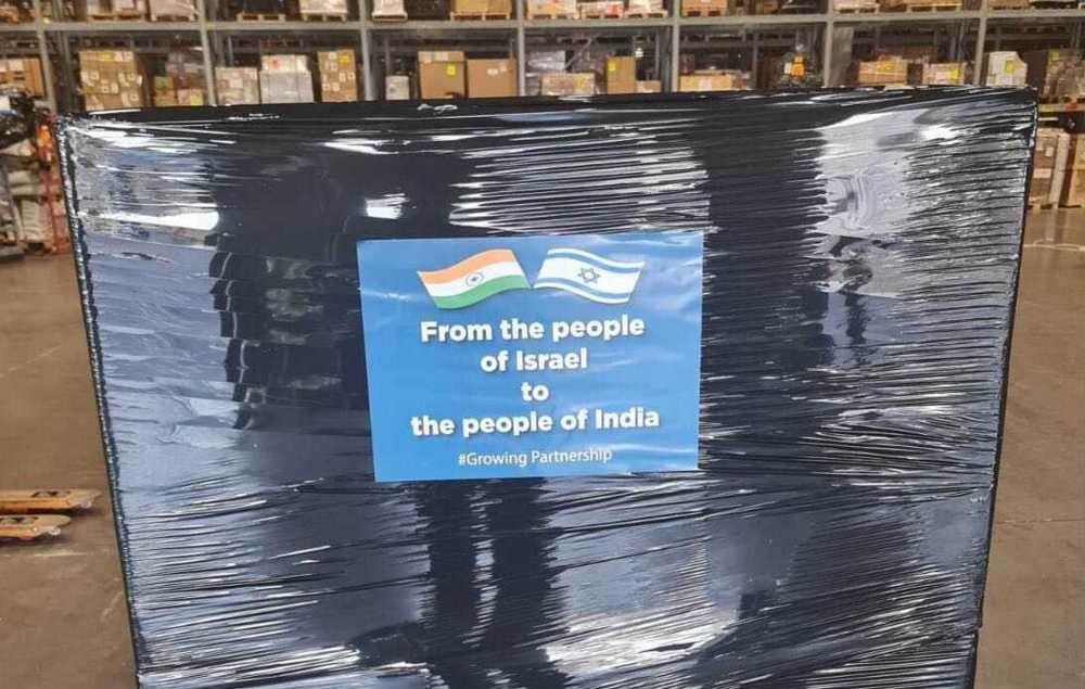 Israel envía respiradores a la India azotada por el COVID