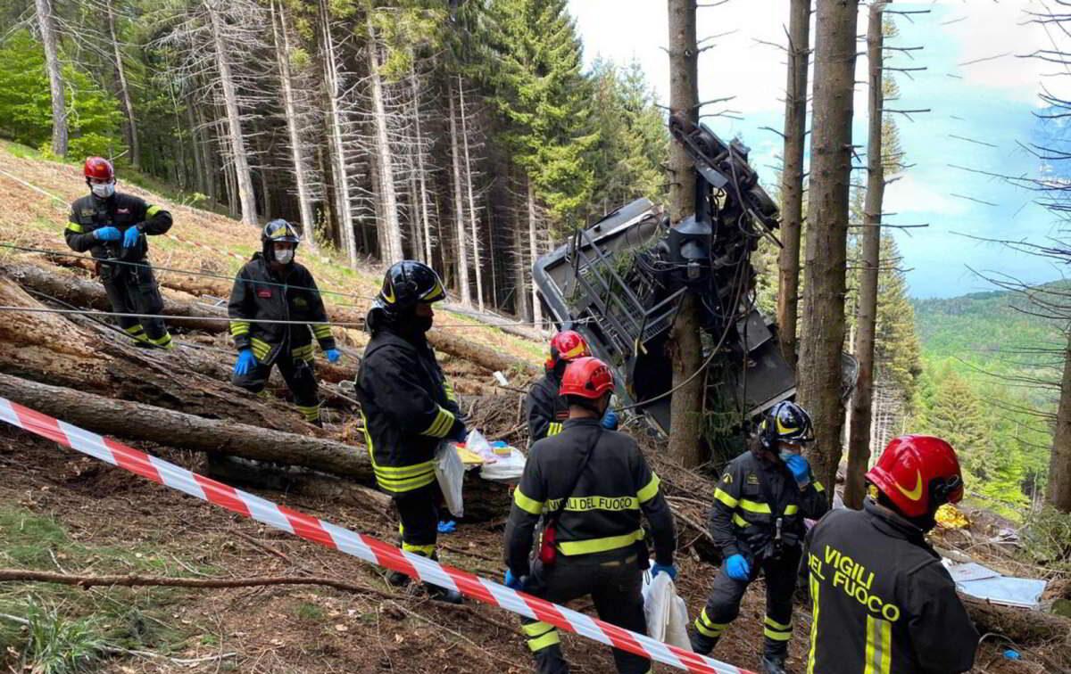 6 israelíes muertos en la tragedia del teleférico de los Alpes italianos