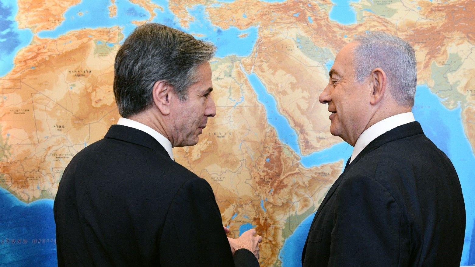 """Netanyahu a Blinken: """"Espero que Estados Unidos no vuelva al anterior Acuerdo Nuclear"""""""