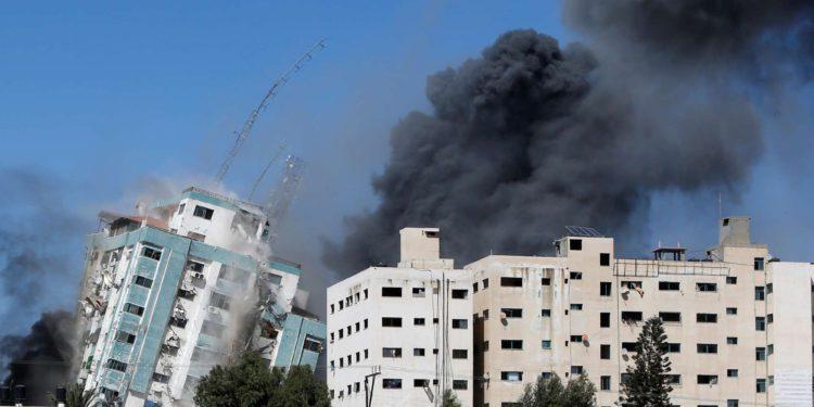 Al Jazeera y AP encubrieron la destrucción de MEE, el portavoz mediático de Hamás