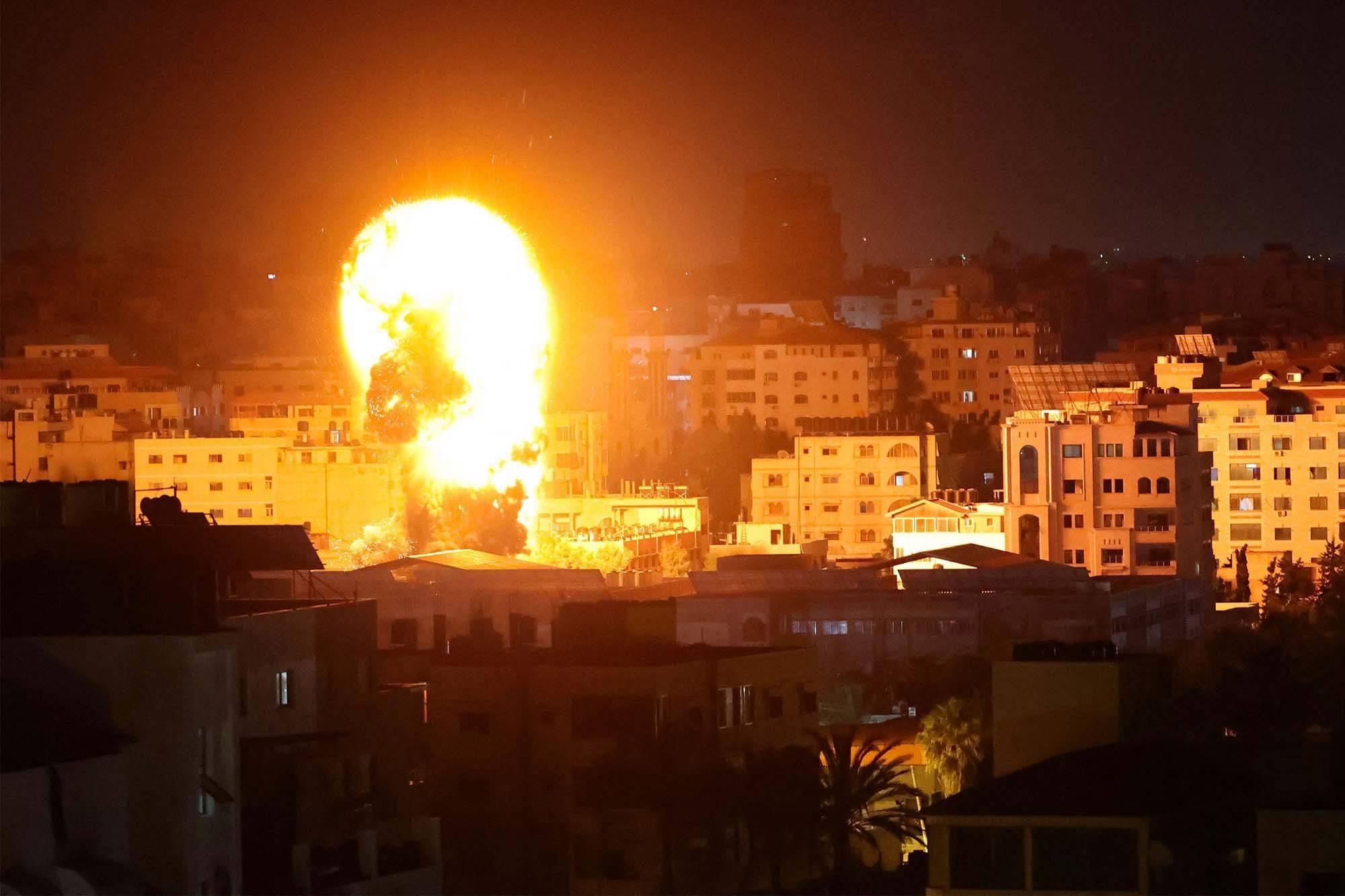 Las FDI atacaron las casas de nueve comandantes de Hamás en toda Gaza