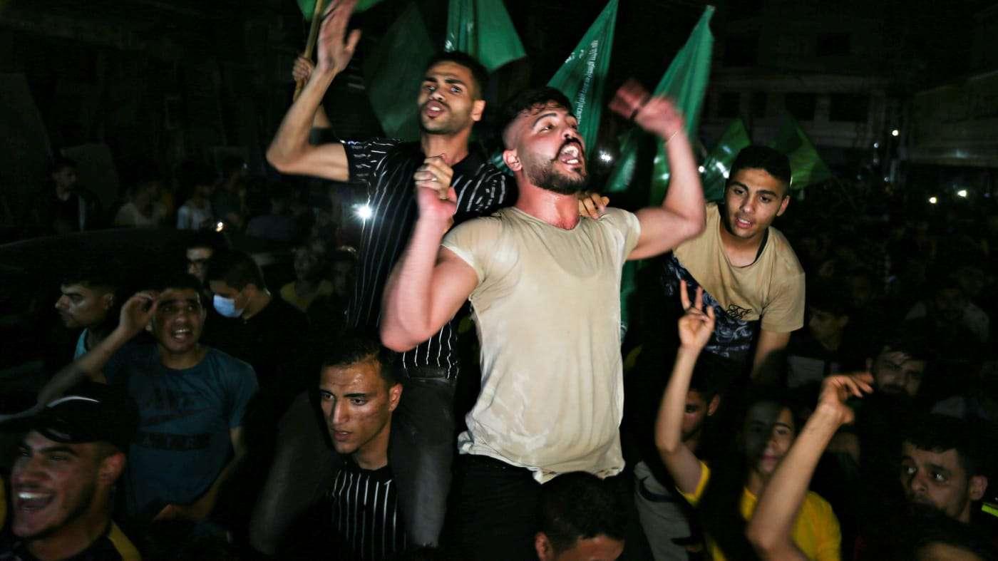Hamás reclama la victoria en el conflicto con Israel tras el alto el fuego