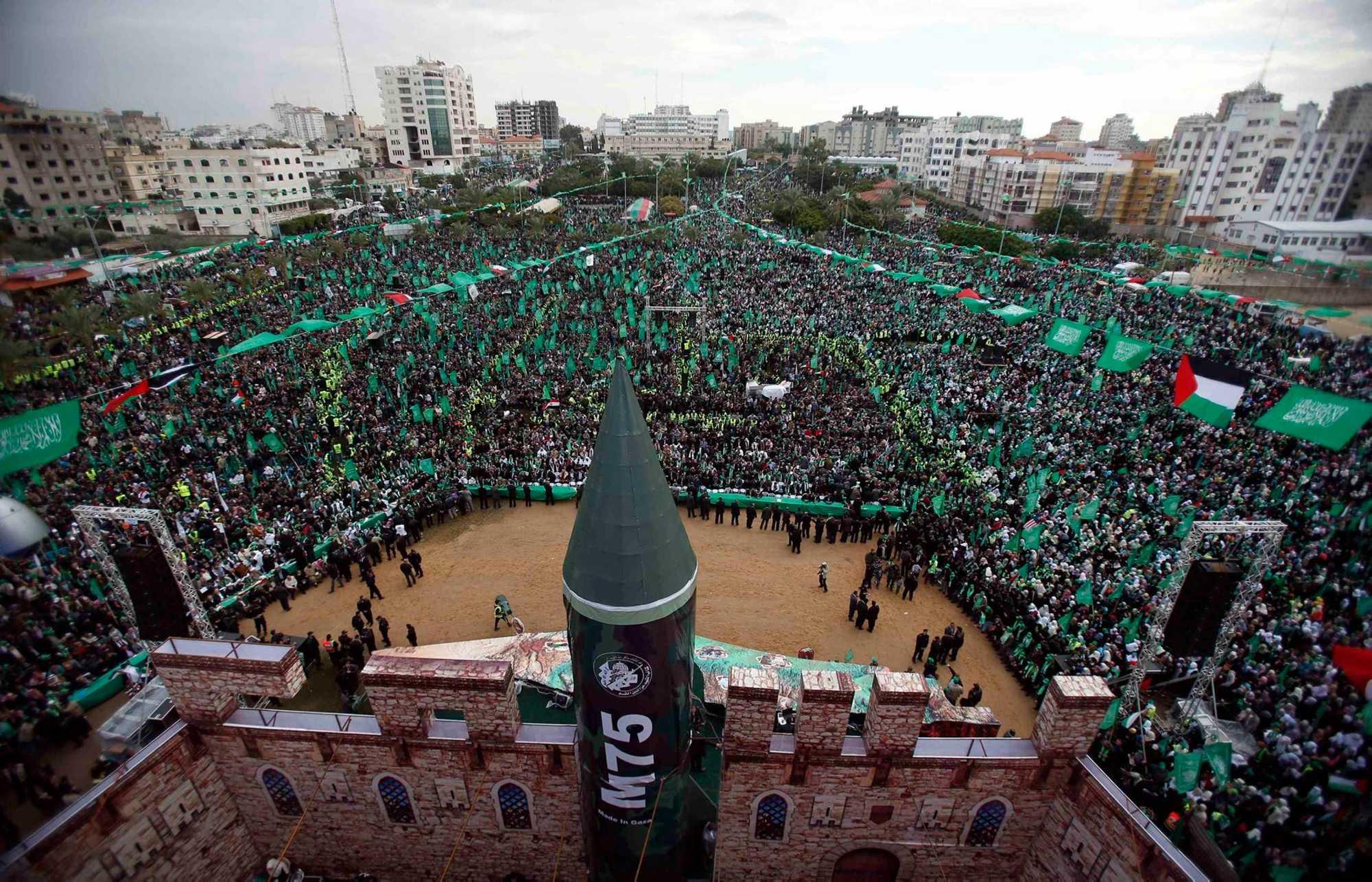 Declaración de guerra de Hamás a Israel