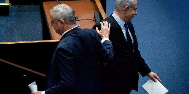 Netanyahu propuso a Gantz un acuerdo para volver a ser Primer Ministro