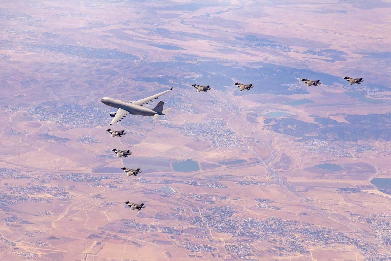 El simulacro del F-35 Tri-Lightning llega a su fin