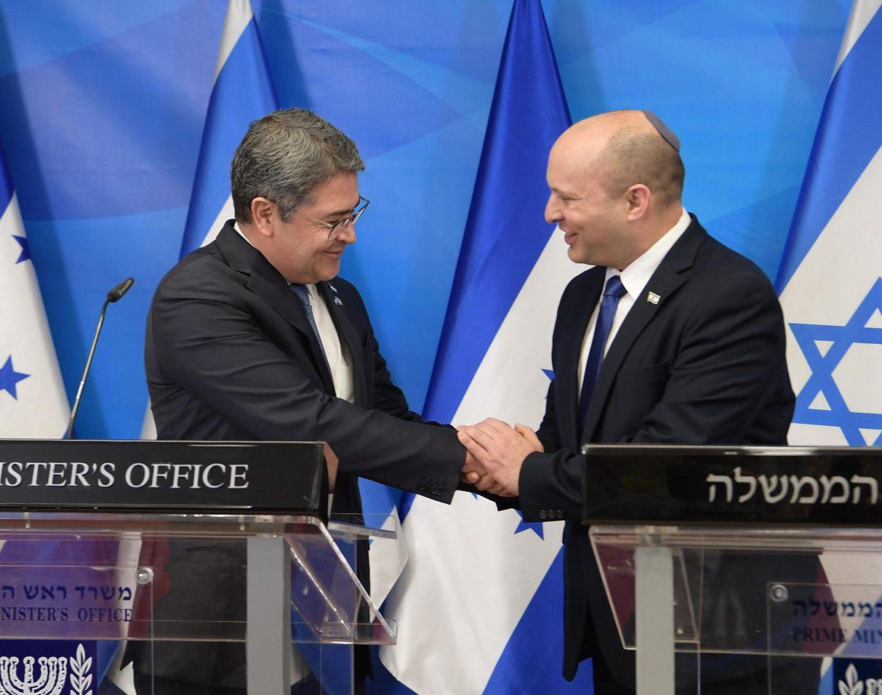 Honduras se convierte en el cuarto país en abrir su embajada en Jerusalén