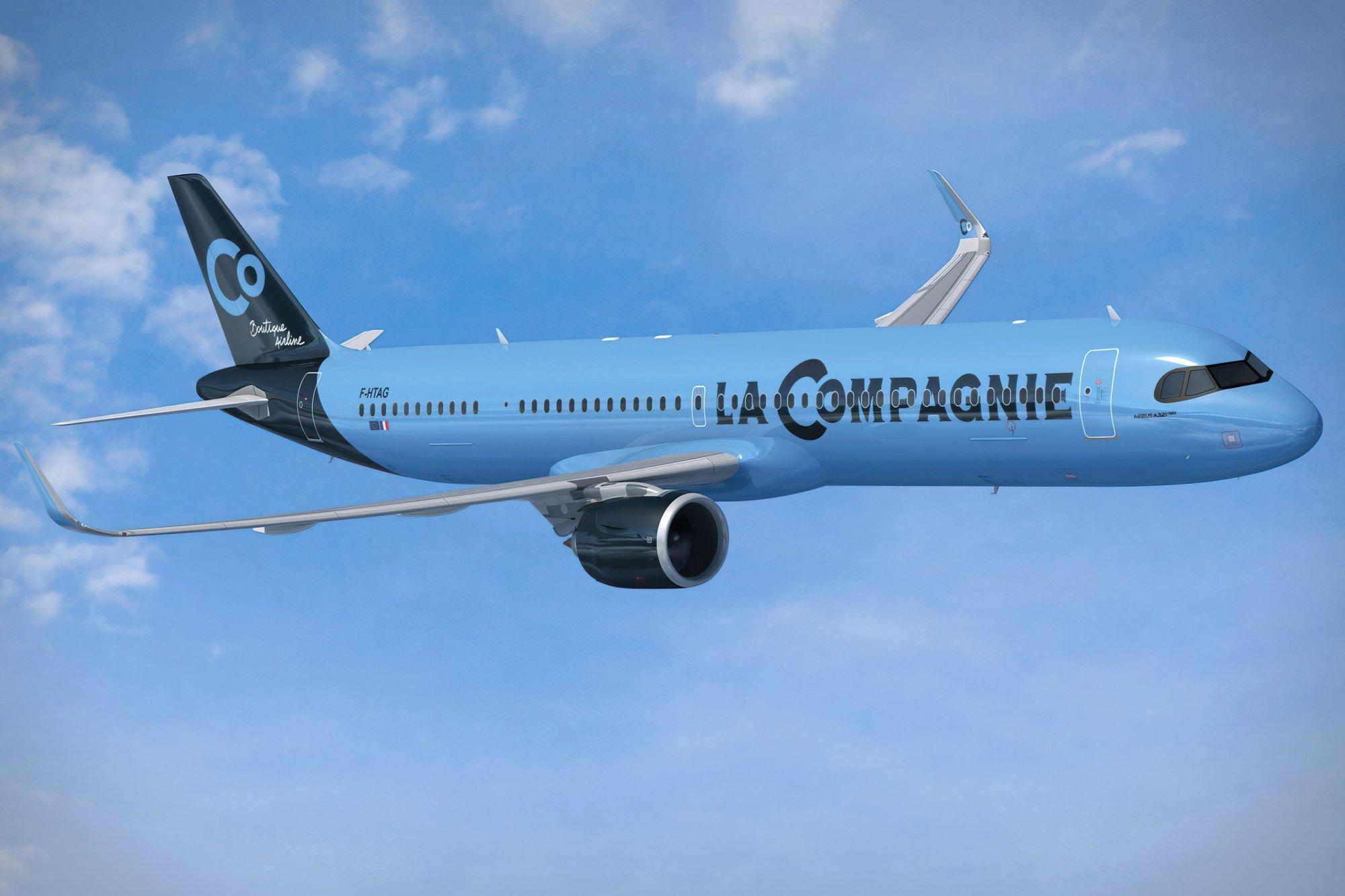 La aerolínea La Compagnie lanzará vuelos Tel Aviv-París-Newark