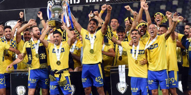 Maccabi Tel Aviv gana la Copa Estatal de fútbol