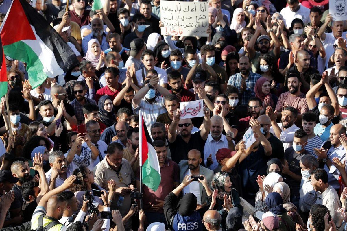 Protestas en la Autoridad Palestina reflejan la crisis de gobernabilidad de Abbas
