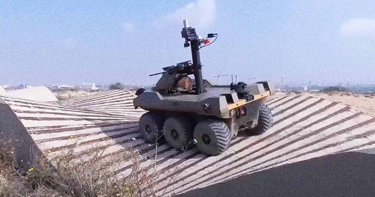 FDI desplegará robot semiautónomo para custodiar la frontera con Gaza