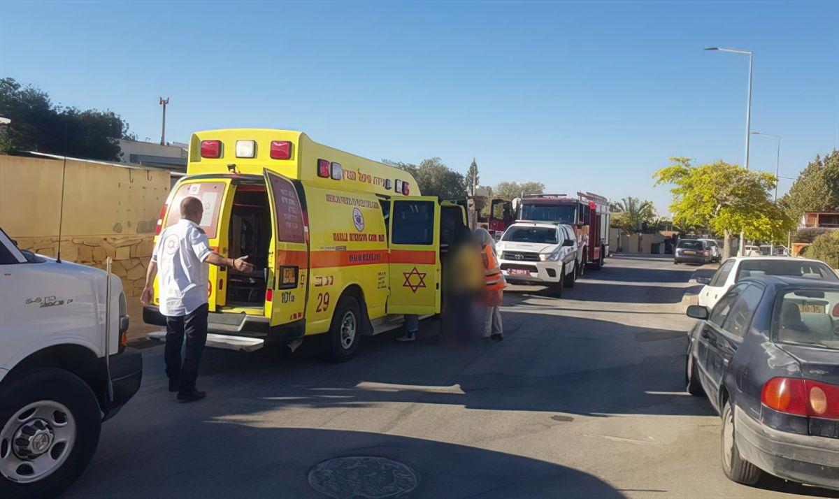 Niños heridos en una explosión en una casa de Mitzpe Ramon