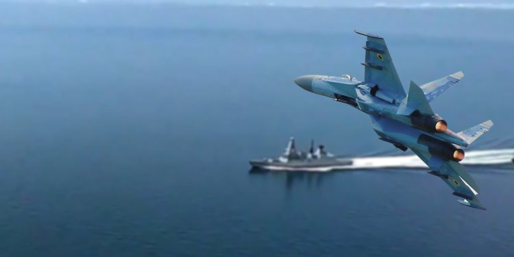 ¿Rusia persiguió con bombas a un destructor británico?