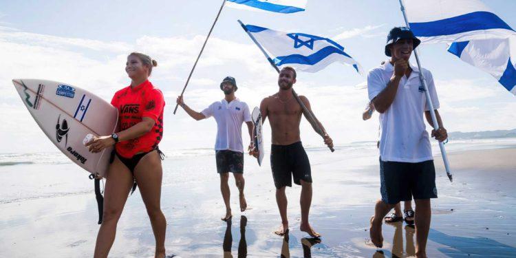 El solitario camino de la surfista Anat Lelior hacia los Juegos Olímpicos de Tokio desde las playas de Tel Aviv