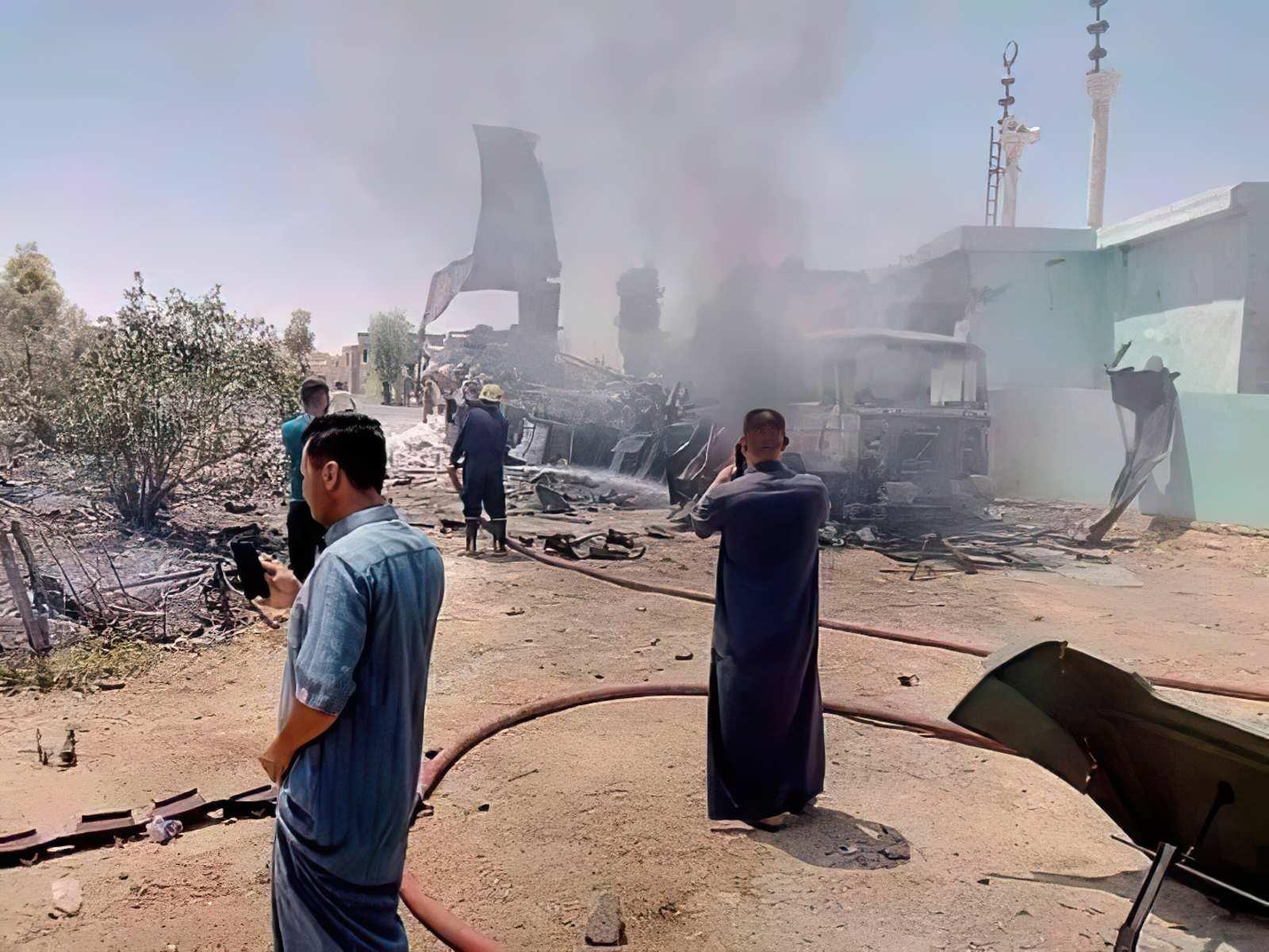 Personal de EE.UU. en Siria e Irak sufre una serie de ataques con drones y cohetes