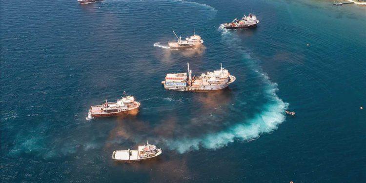 Guardia costera de Filipinas expulsa a un buque de guerra chino