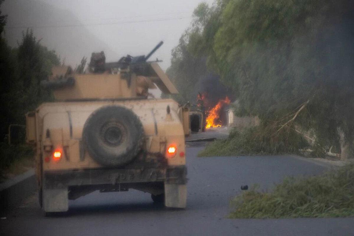 Comandos afganos quedan atrapados en violento enfrentamiento con los talibanes
