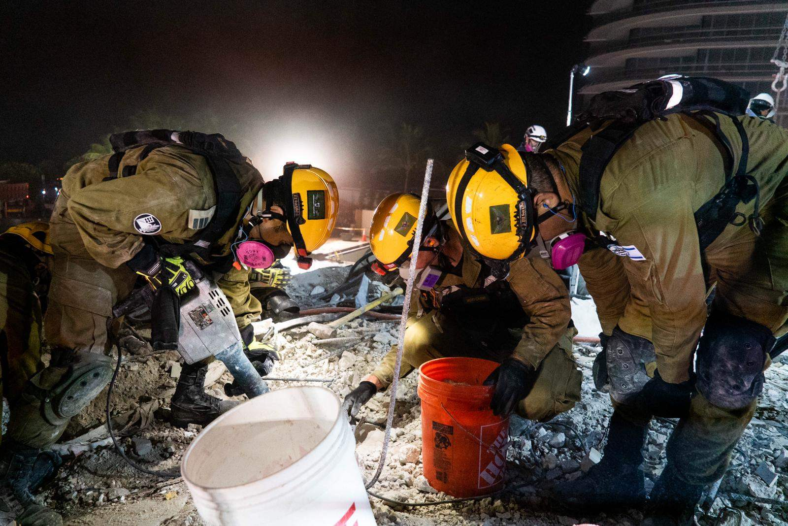 Una mirada al interior del esfuerzo de rescate israelí en Miami